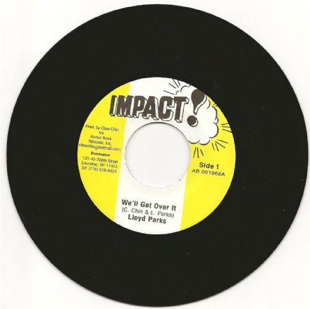 Lloyd Parks - We'll Get Over It / version (Impact) 7""